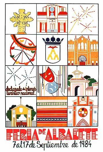 Cartel Feria Albacete 1984