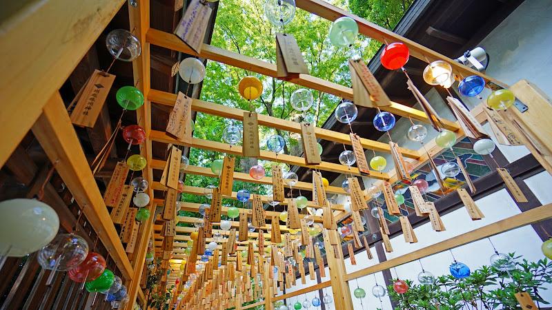 川越氷川神社 風鈴回廊 写真6