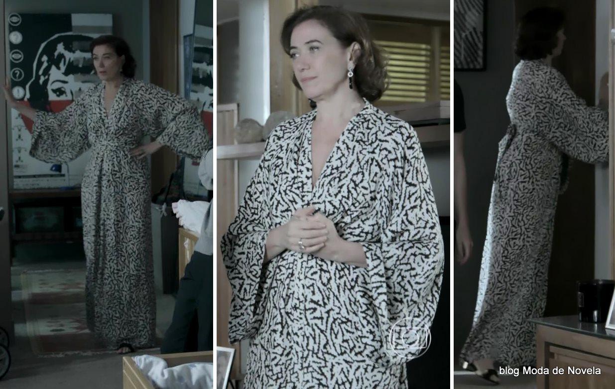 moda da novela Império, look da Maria Marta dia 3 de janeiro de 2015