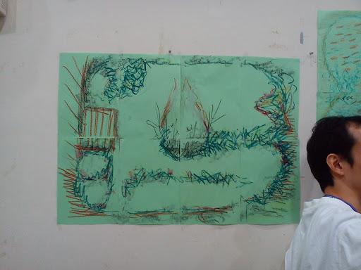 陳藝珍老師畫的勘查圖