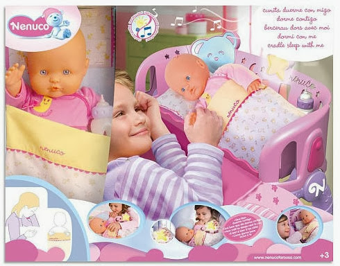 Nenuco Doll and Sleep With me Cradle Set