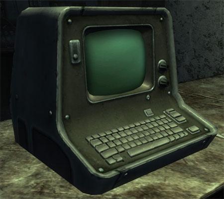 Fallout New Vegas RobCo Terminal Papercraft