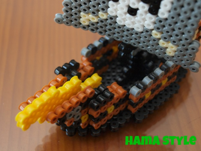Trabajos 3D Hama Style Barco_hama_3D4
