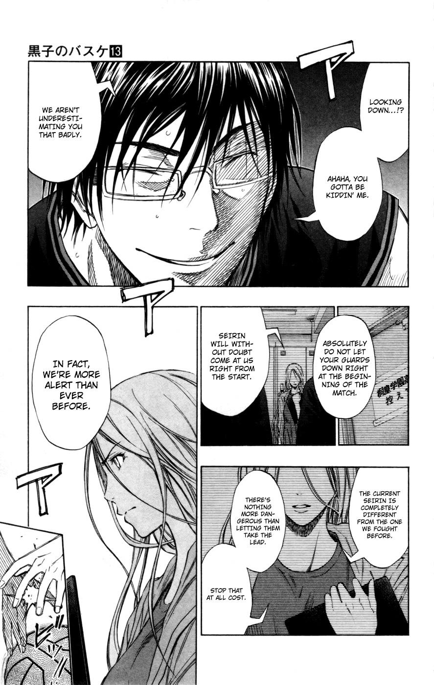 Kuroko no Basket Manga Chapter 115 - Image 10