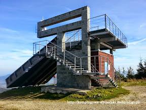 Wieża startowa trasa narciarska FIS na Skrzycznem