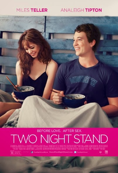 Poster Of English Movie Two Night Stand (2014) Free Download Full New Hollywood Movie Watch Online At Alldownloads4u.Com