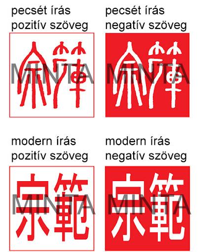 japán kalligráfia név pecsét