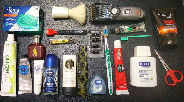 Men's Travel Grooming Accessories