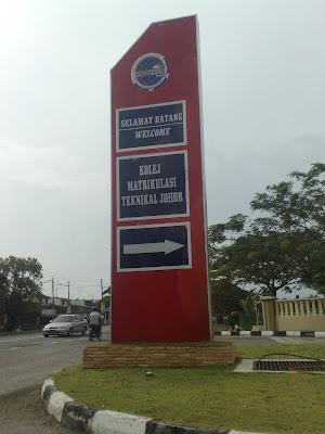 Ambil Alih Tugas Di Kolej Matrikulasi Teknikal Johor Di Pontian