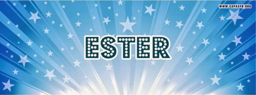 Capas para Facebook Ester