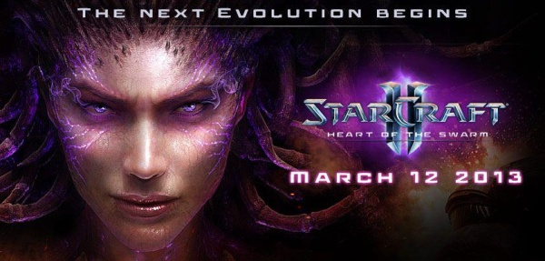 StarCraft 2 Heart of the Swarm Release Date