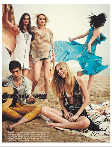 Peace, love & music - Amica Junio 2012