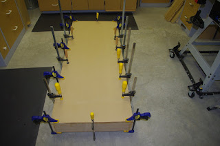 X Axis Torsion Box With Skins