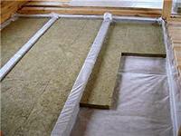 Технология утепления бетонного потолка