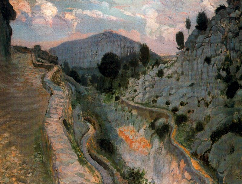 Joaquim Mir - Camino de Pollença
