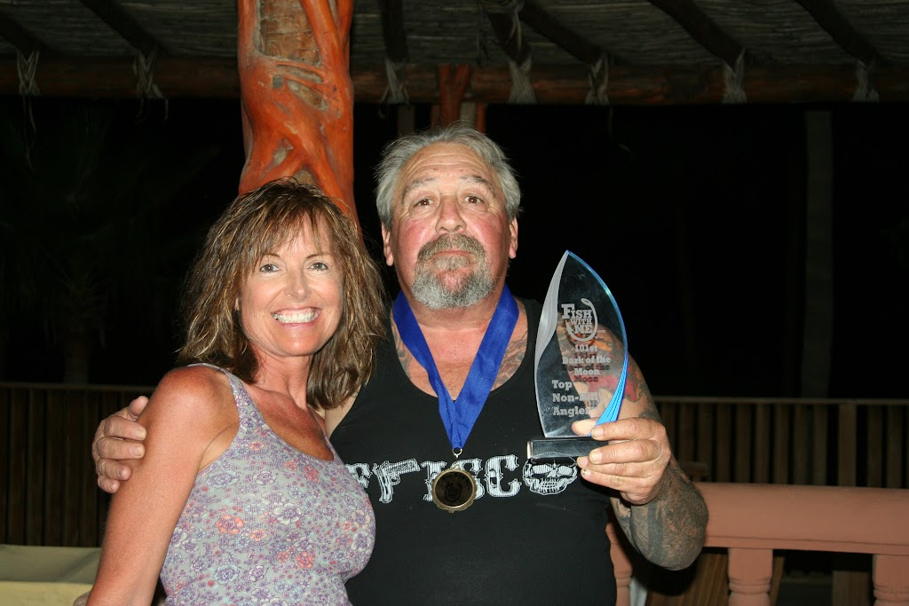 Top non-bill fish angler for November 2012