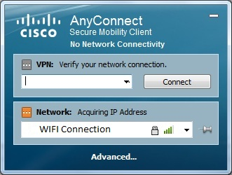 WiFi issues with Cisco AnyConnect