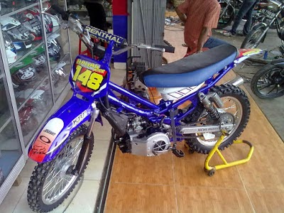 Vega R Modifikasi Cross