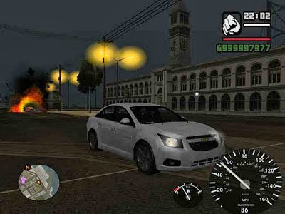 Screen Shot Of GTA San Andreas (2011) Full PC Game Free Download at Alldownloads4u.Com