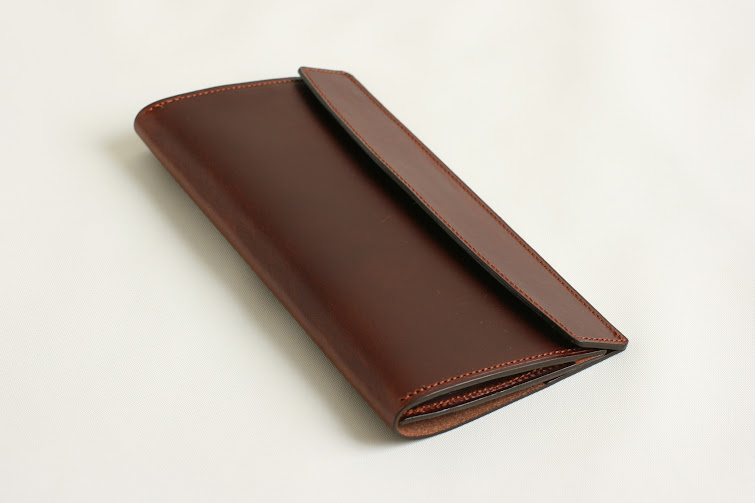 FERMA WALLET Long: brown