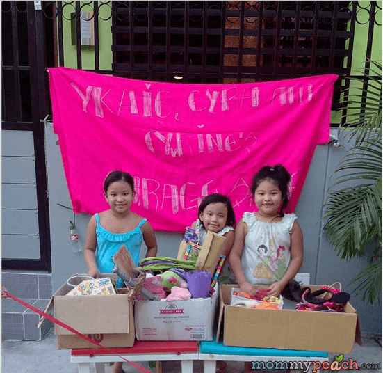 Kiddie Garage Sale by Ykaie, Cyra, and Cyvrine