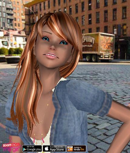 Teen Vogue Me Girl Level 65 - Denim Weekend Wear - Lea - Snapshot