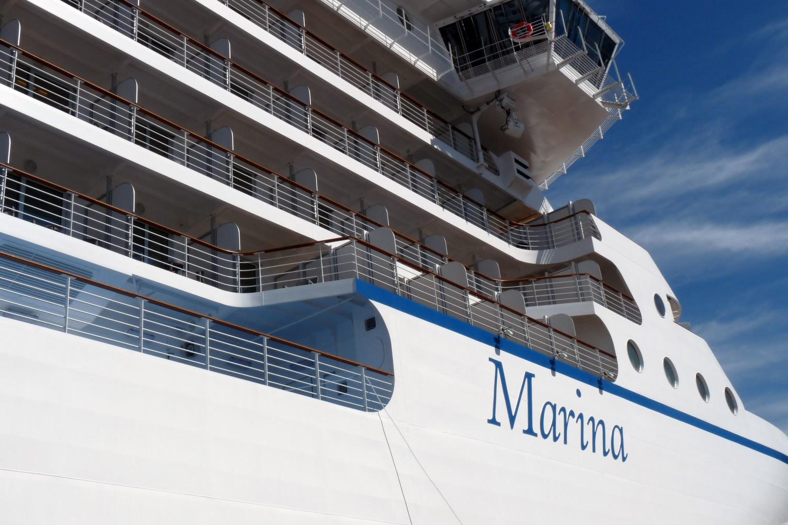 ScheckTrek: Exclusive Tour of Oceania's Brand-New Ship, Marina