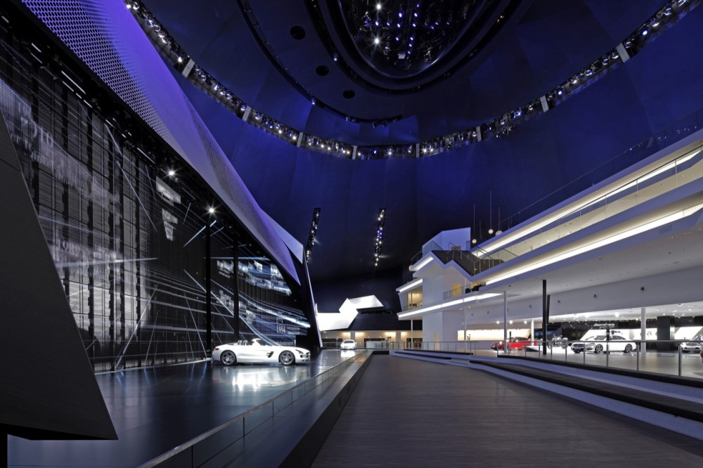 Mercedes-Benz at the Frankfurt Festival Hall design by Kauffmann Theilig & Partner