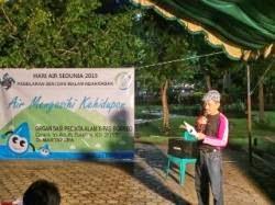 Kadisbudparpora Banjar Baca Puisi