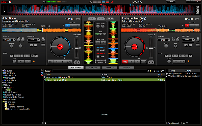 Atomix Virtual DJ Pro v7.3 ML [Full] [Incl. Medicina] [UL]