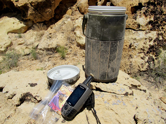 Two-year-old geocache that hadn't been found yet