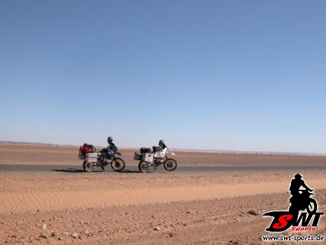 BMW GS in Marokko