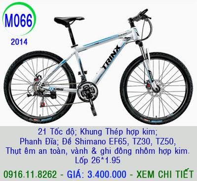 XE ĐẠP THỂ THAO, xe dap the thao, xe dap trinx, xe đạp thể thao chính hãng, xe dap asama,  M066 2014