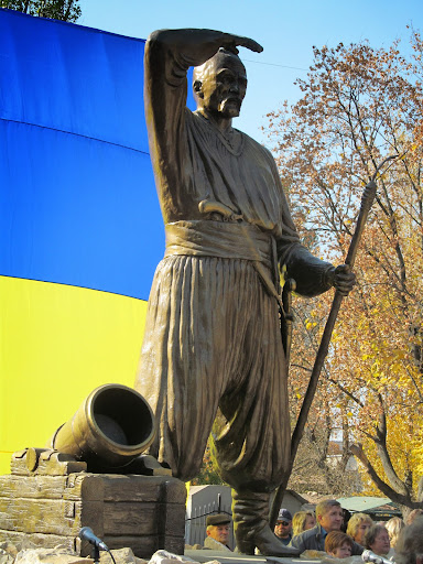 Памятник кошевому атаману Сирко установили в Харькове - Цензор.НЕТ 912