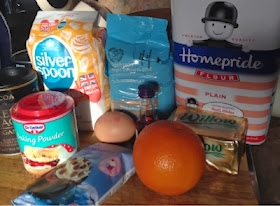 Double Chocolate Orange Cookies Recipe - ingredients
