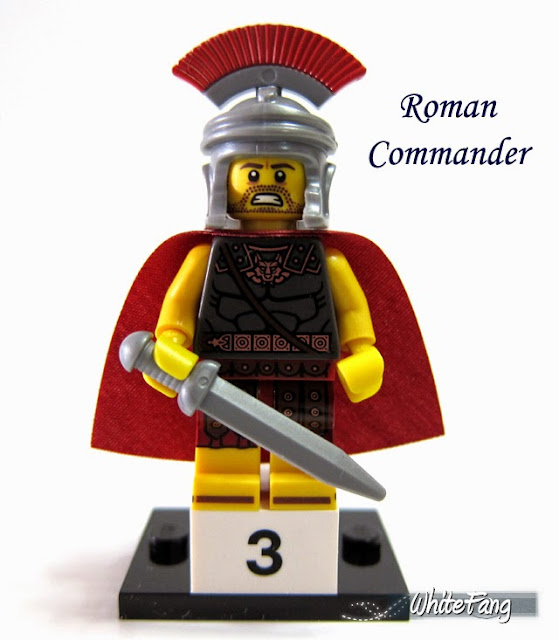LEGO Minifigures Series 10 - Roman Commander