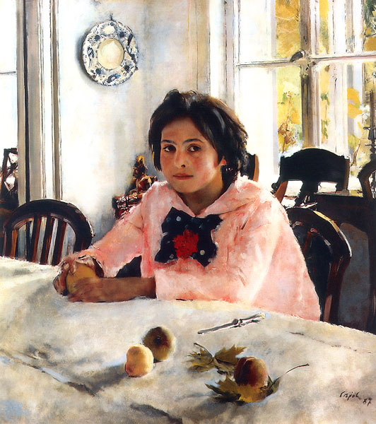 Valentin Serov - Girl with Peaches