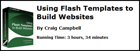 Learnflash.com - Using Flash Templates To Build Websites