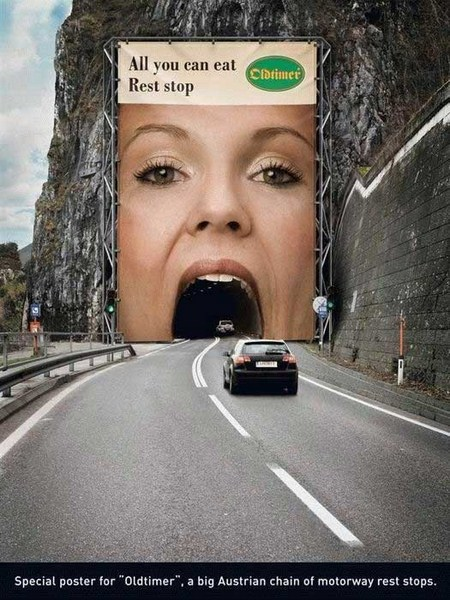 Funny and Creative Advertisements Pictures You Ever Seen