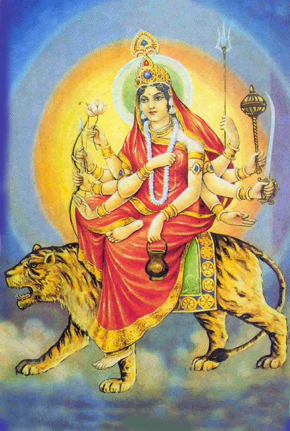Maa Chandraghanta – Third form of Maa Durga