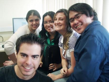Agência Mira - Monique, Crisela, Clis, eu & Rapha