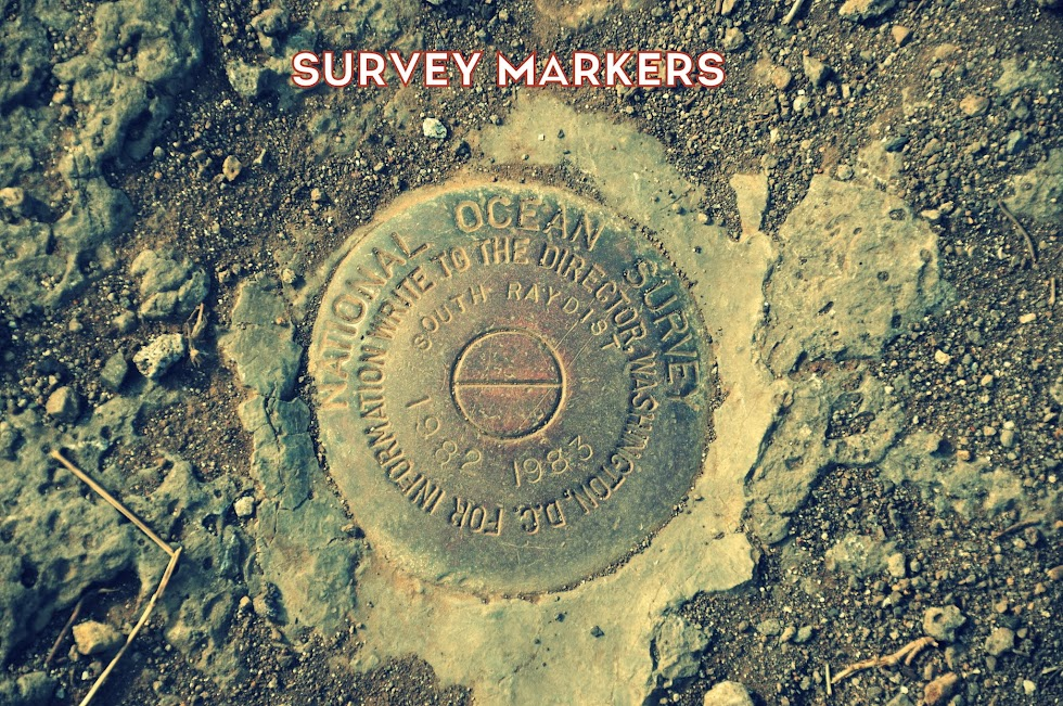 Surveying Markers and Benchmarks Photos