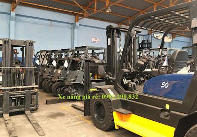 Xe nâng hàng MGA Forklift