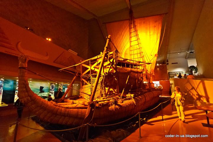 осло.музей кон-тики.музей кораблей викингов.норвегия