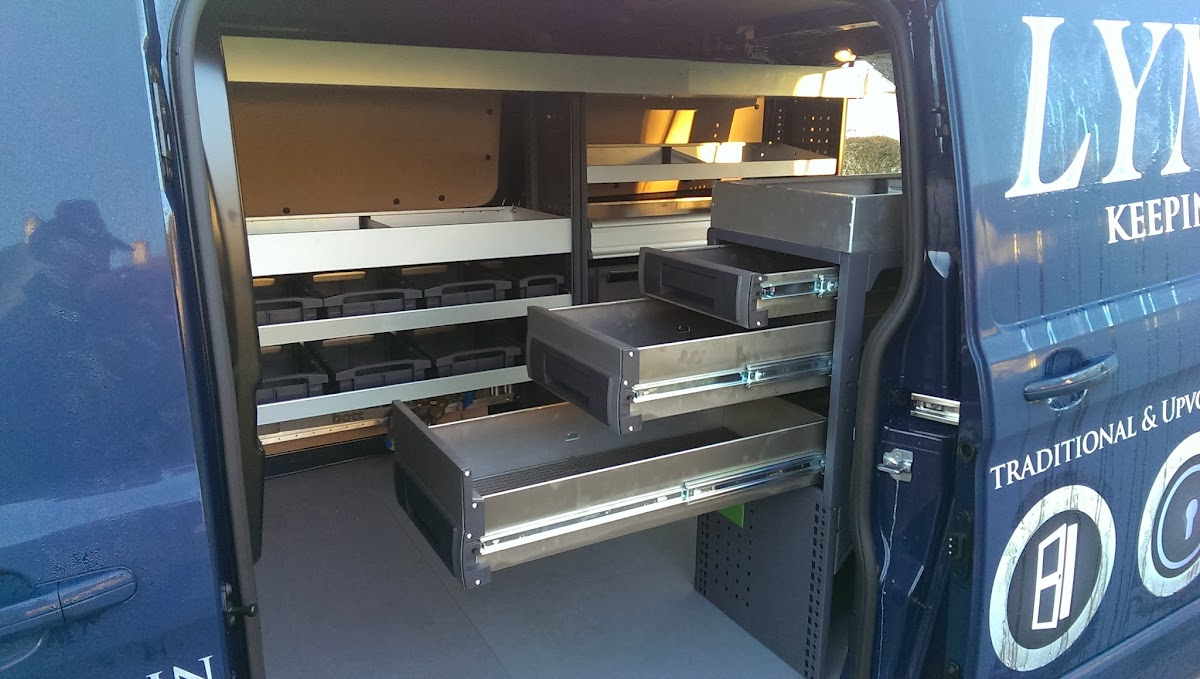Ford Transit Workbench Locksmith Van Setup Ranger Design