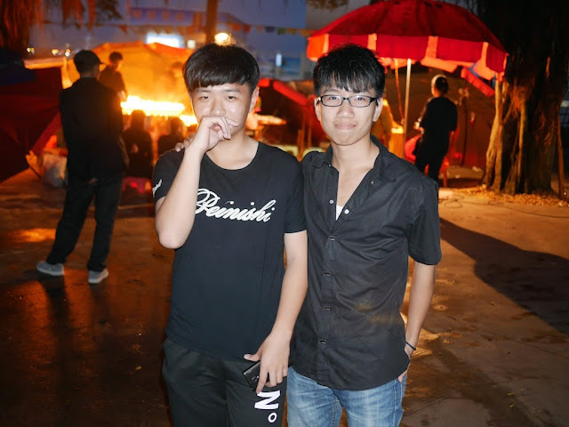two young men in Zhanjiang
