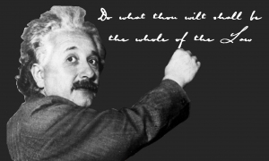 Thelemic Saints Albert Einstein Image