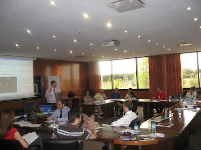 Grupos de trabajo en el taller de design thinking