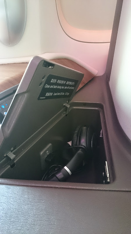 DSC 2872 - REVIEW - Cathay Pacific : First Class - Hong Kong to Tokyo (B747)