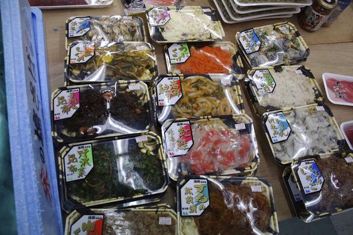 写真:海産物加工品